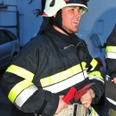 Feuerwehrübung im Bollwerk Klagenfurt