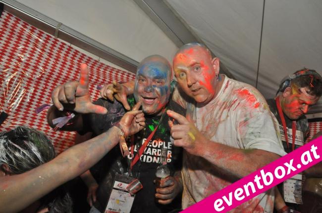 Das war der Colour Splash am World Bodypainting Festival. Die wohl