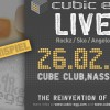 CUBIC EGG Live – Gewinnspiel!