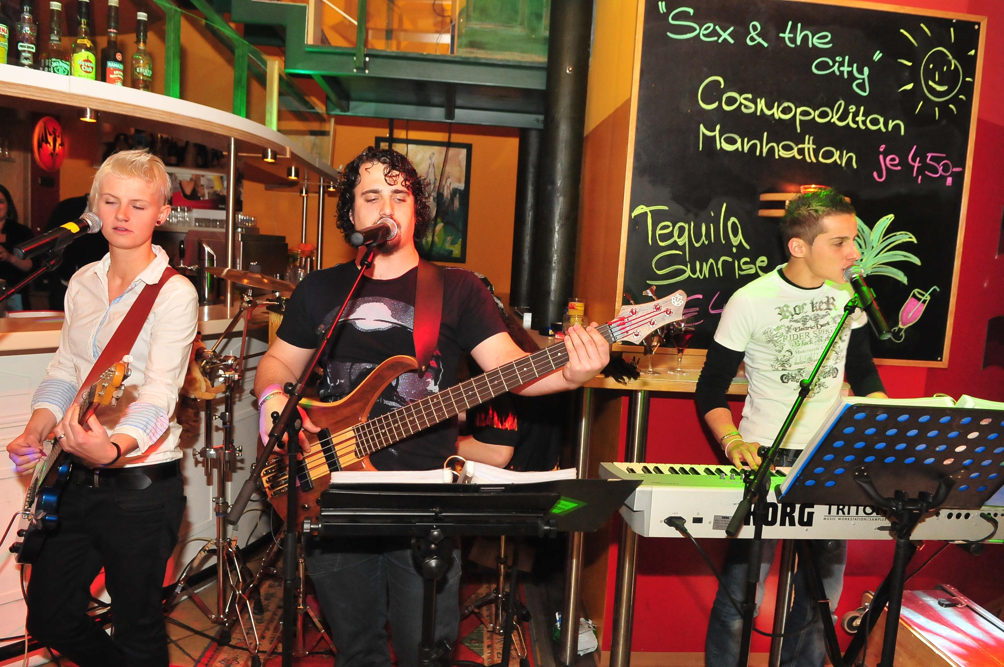 Effect3 Live in der Galerie Bar – Klopeiner See