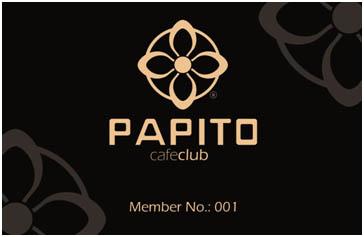 Papito Club – Membercard