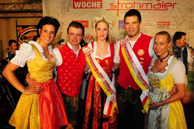 Dirndlkönigin und Lederhosenkaiser 2012