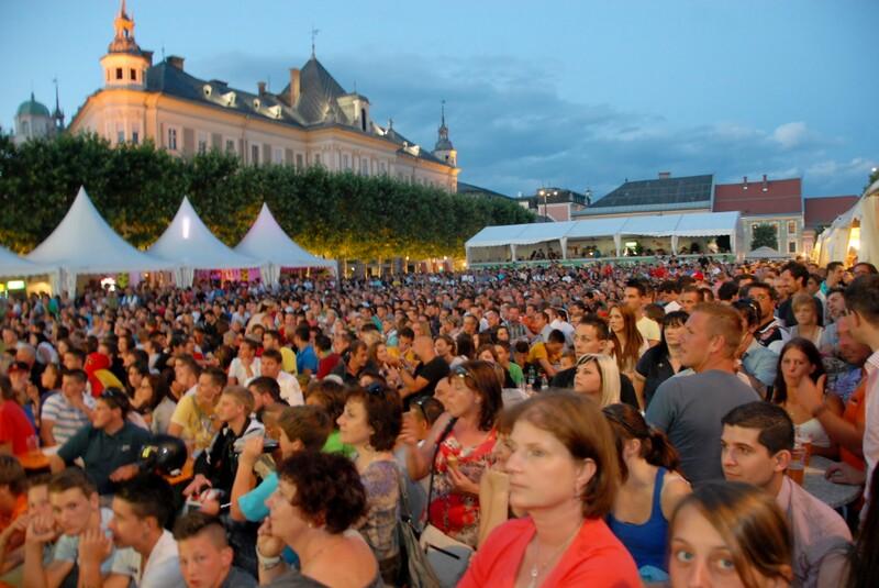 Public Viewing – Neuer Platz 2012 Portugal vs Spanien