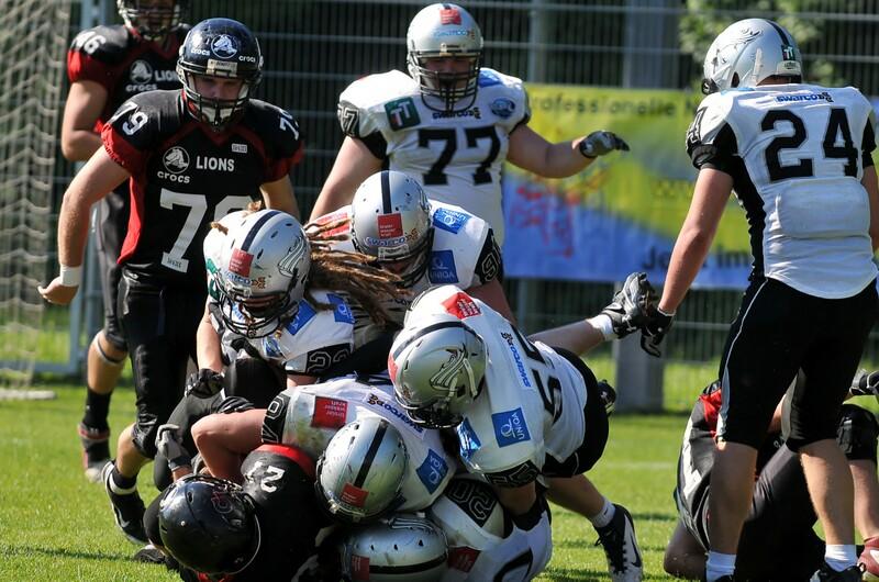 Spielbericht Carinthin Lions vs Swarco Raiders Tirol II
