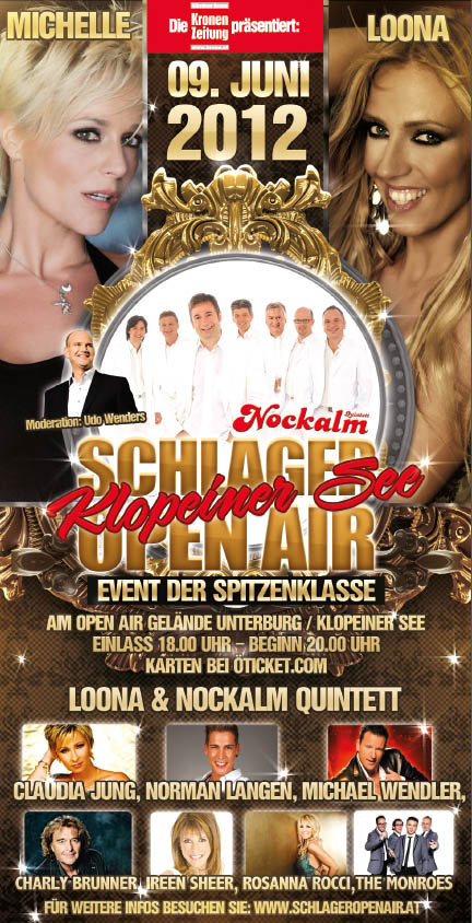 Schlager Open Air 2012 am Klopeiner See
