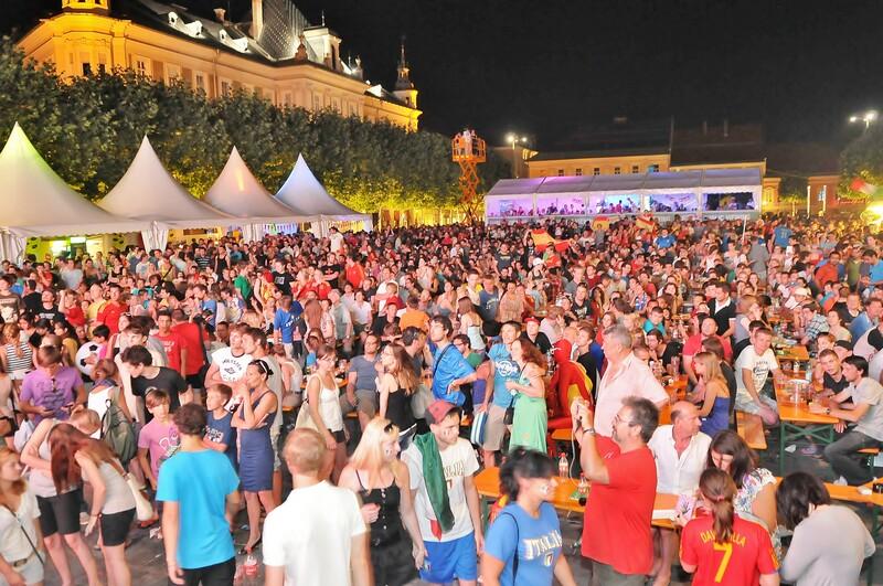 Public Viewing – Neuer Platz 2012 Spanien vs Italien