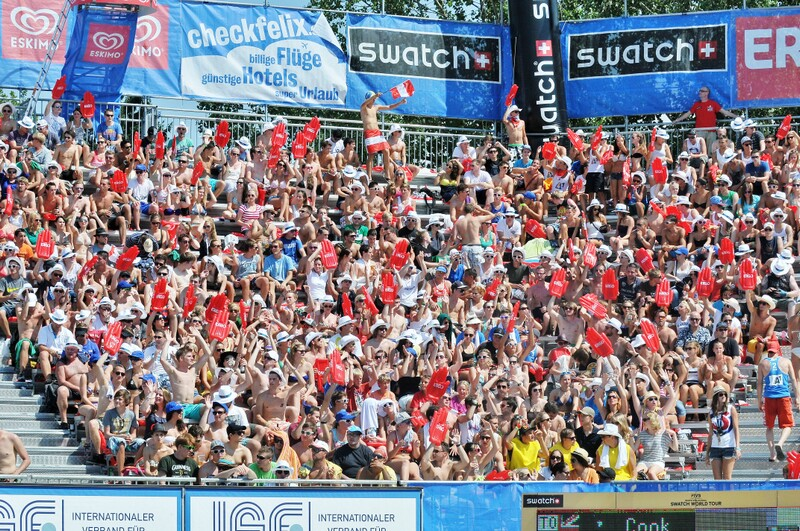 A1 Beachvolleyball Grand Slam 2012 in Klagenfurt