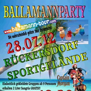 Ballamannparty in Rückersdorf