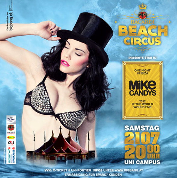 Beach Circus 2012 presents Mike Candys