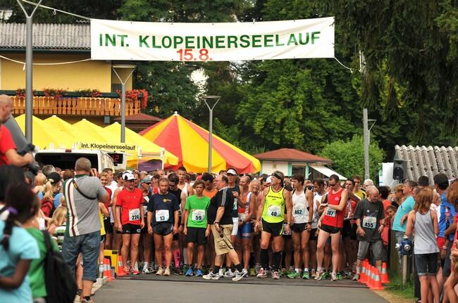 Volkslauf Klopeinersee 2012