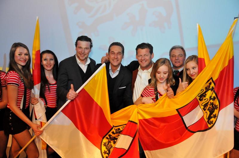 Wahlauftakt der FPK in Klagenfurt 2013