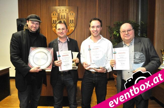 Heimo Luxbacher, Mario Kraiger, Martin Mak und Paul Kraiger