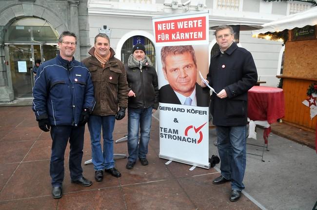 Team Stronach Kärnten – Unterstützungsklärungen Landtagswahl 2013