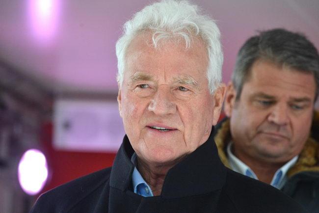 Frank Stronach in Völkermarkt