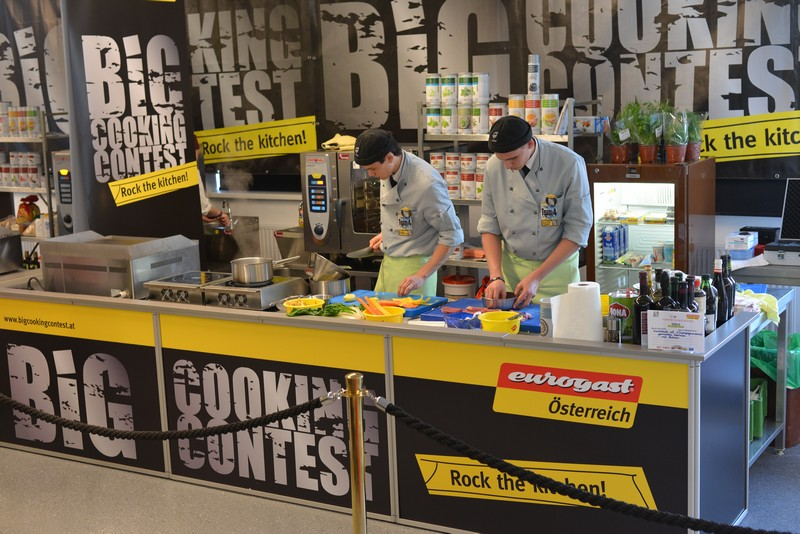 "Eurogast Big Cooking Contest 2013 – ""Rock the kitchen"""