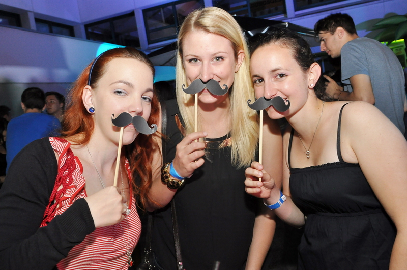 The Mustache Uniparty 2013