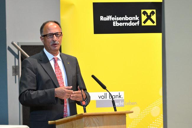 Generalversammlung 2013 der Raiffeisenbank Eberndorf