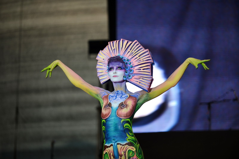 World Bodypainting Festival 2013 in Pörtschach