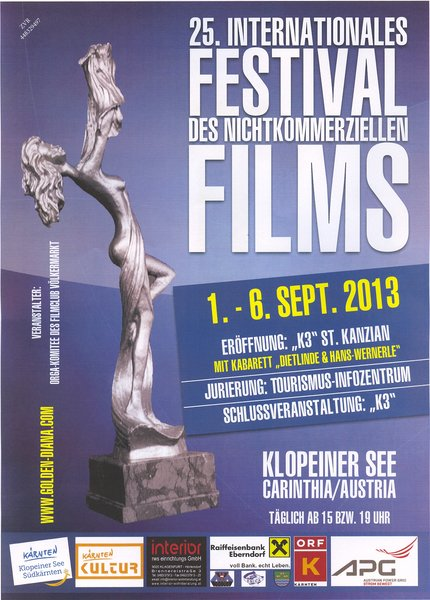 25. INT. FILMFESTIVAL GOLDENE DIANA