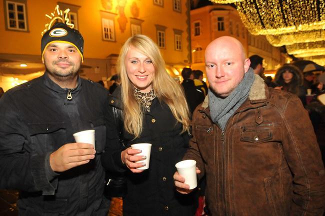 Glühwein Opening Klagenfurt 2013