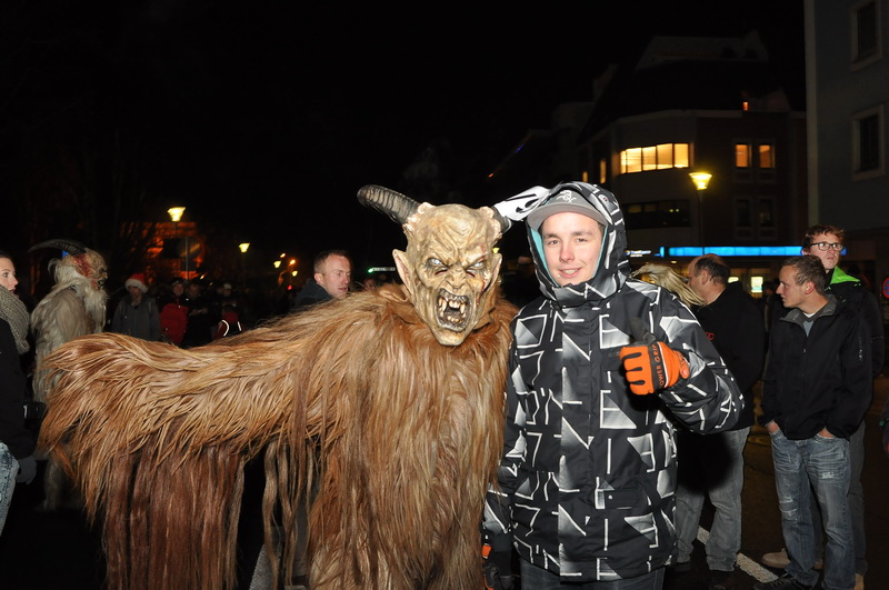 Krampus & Perchtenumzug 2013 in St. Veit