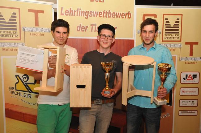 Bezirks Lehrlingswettbewerb 2014 der Tischler