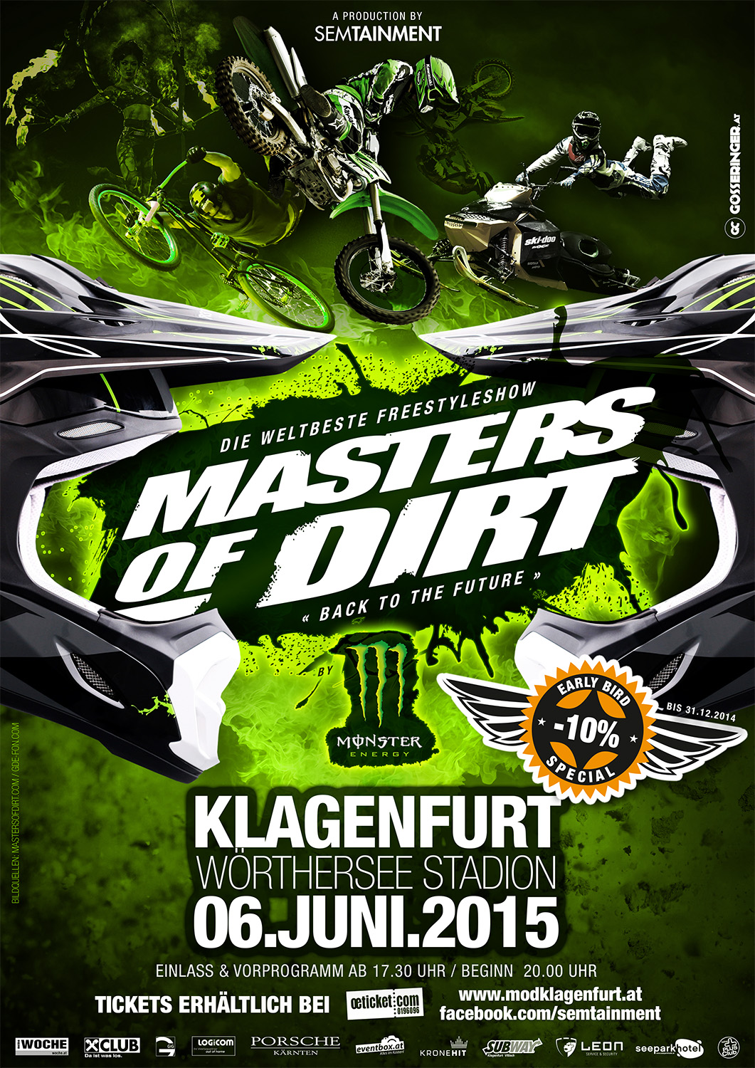 MASTERS OF DIRT 2015 im WÖRTHERSEE STADION