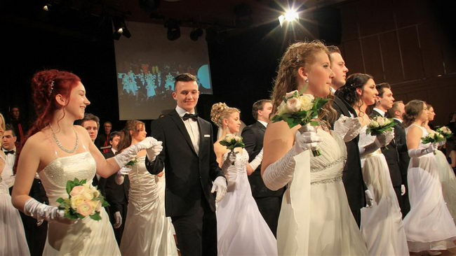 CHS Ball Villach 2015 im Casino Velden