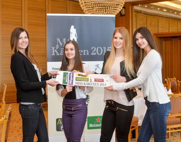 Pressekonferenz Miss Kärnten 2015