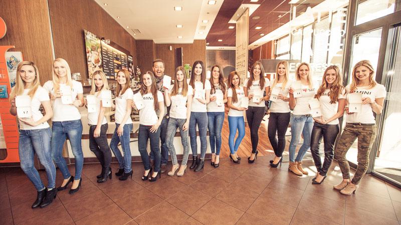 Miss Kärnten Startnummernauslosung 2015