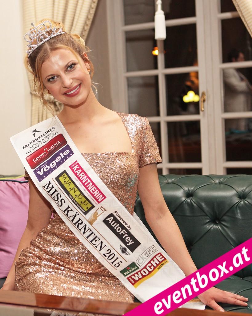 Franziska Sumberaz ist die neue Miss Kärnten