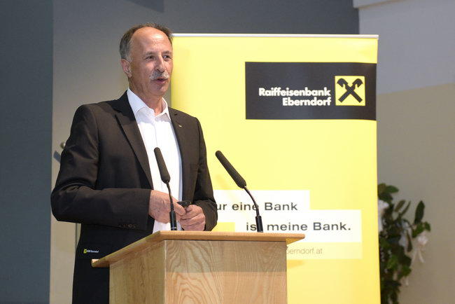 Generalversammlung 2015 der Raiffeisenbank Eberndorf